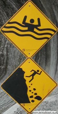 Franz_josef_glacier_danger_signs