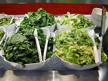 The people who don't chop the lettuce at the salad bar enough