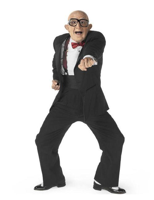 Mr. Six, the mascot for Six Flags