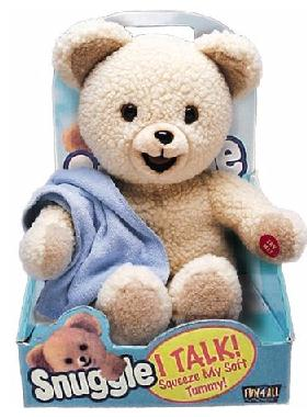 Snuggles, the Fabric Softener Bear