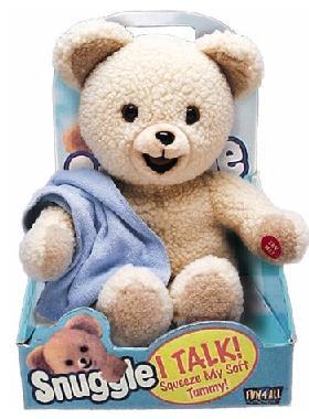 Snuggles, the Fabric Softener Bear